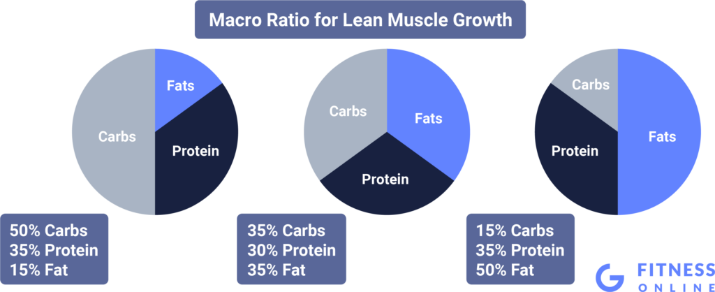 Different Macronutrient Ratios for Lean Building Muscle Mass