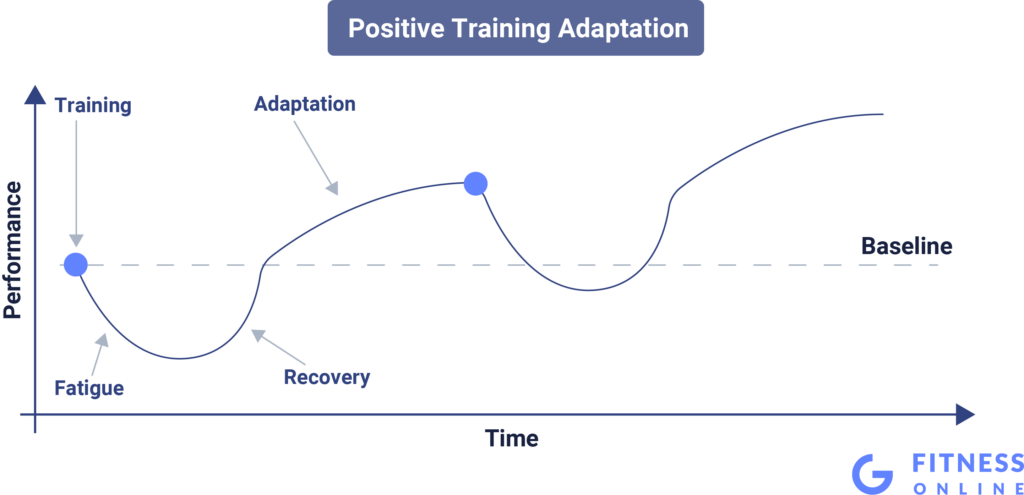 Illustration of Positive Training Adaptation