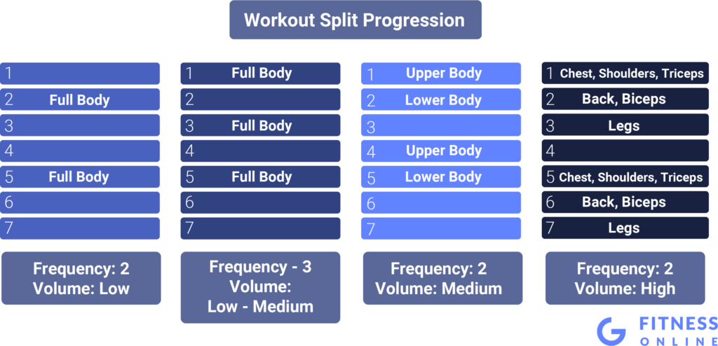 Development of the Workout Splits