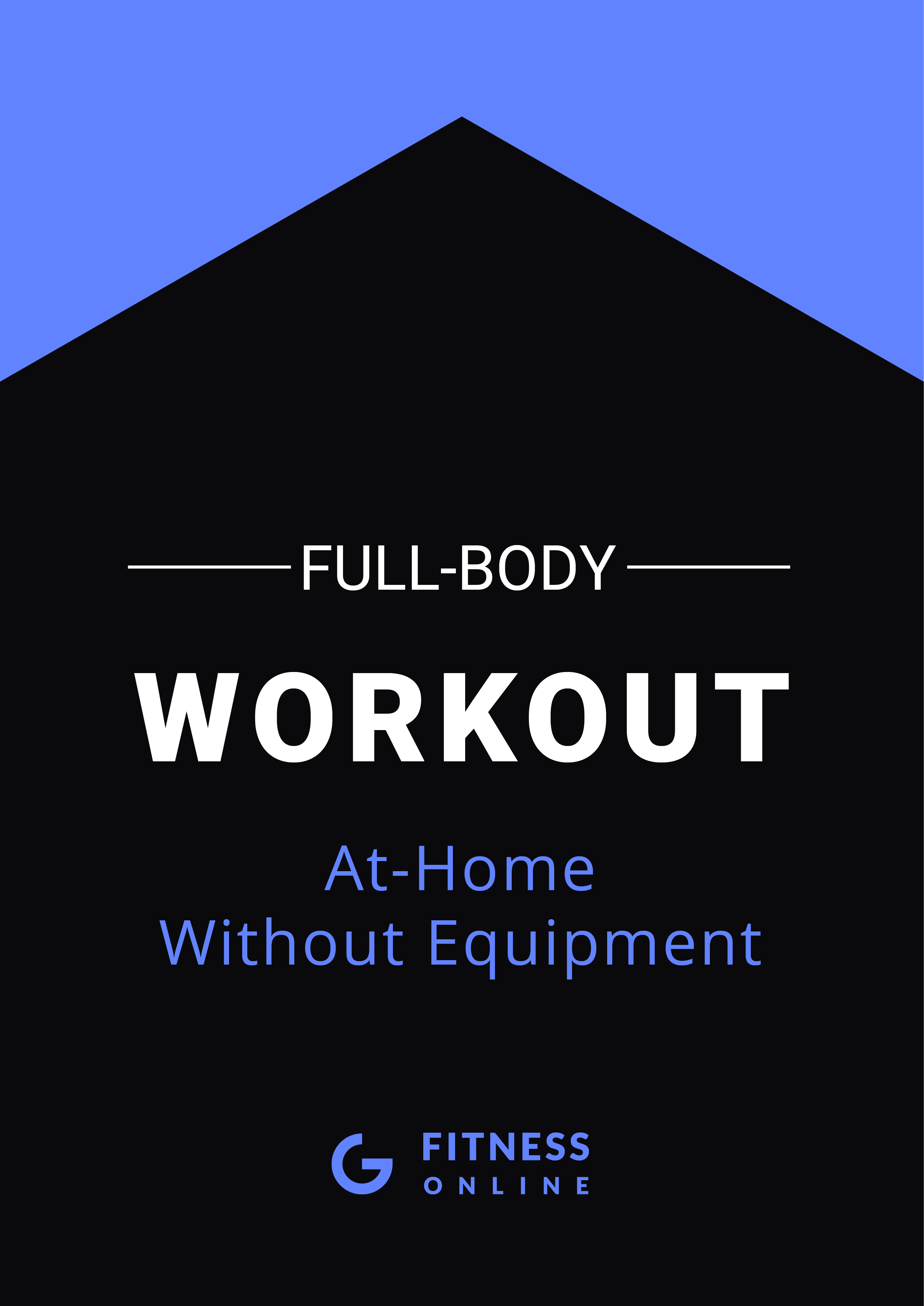 Full Body Workout At Home PDF Cover