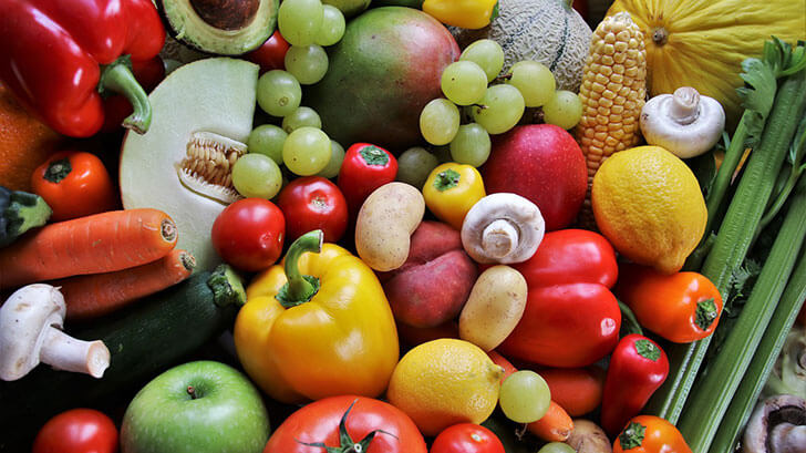Mix Fruits and Vegetables