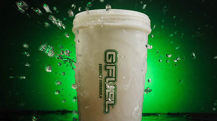 G Fuel Pre-Workout Shaker